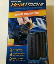 ThermaCELL Heat Packs USB Rechargeable Hand Warmer Gloves Small PAIR