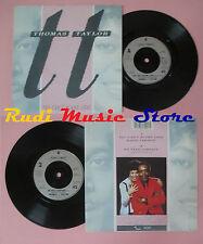 "LP 45 7"" Thomas + Taylor You cannot Blame Love we need company 1986 UK No CD MC dvd"
