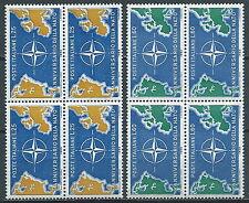 1959 ITALIA NATO QUARTINA MNH ** - JU057-2