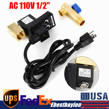 Automatic Electronic Timed Air Tank Water Moisture Drain Valve Timer Us Plug