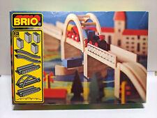Vintage BRIO Railroad Suspension Bridge in Box 3353 Complete 31405/53