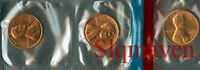 1969 P D S Lincoln Cents Choice/Gem Bu Set from mint sets