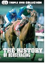 The History Of Horse Racing (DVD, 2006, 3-Disc Set, Box Set) Brand New & Sealed