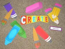 Teacher Resource: Art Bulletin Board Set