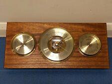 Vintage twin diaphragm Doppeldose barometer weather station