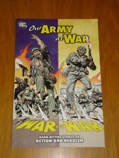 OUR ARMY AT WAR DC COMICS VICTOR IBANEZ GRAPHIC NOVEL 9781401230159
