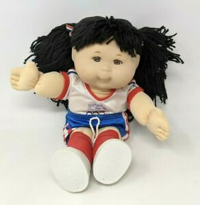 VTG 1996 OAA Mattel Cabbage Patch Kids CPK Olympikids Soccer Team Doll Toy CD21