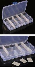 15 compartiments amovible boîte de rangement en plastique