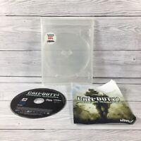 Call of Duty 4 Modern Warfare | PlayStation 3 PS3 - No Cover - Disk and Manual