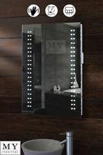 LED ILLUMINATED BATHROOM MIRROR DEMISTER / SHAVER / SENSOR - OPTICON