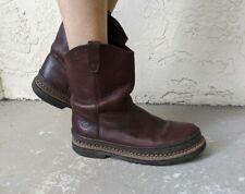 "Georgia Giant Womens 9"" Wellington Soft Toe Work Boots Ladies 5.5 6"