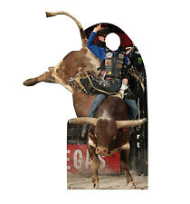 PROFESSIONAL BULL RIDER - LIFE SIZE STAND-IN/CUTOUT BRAND NEW - PBR 2379