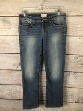 BKE Buckle Denim Payton Blue Jeans Crop Stretch EUC Women's Size 28
