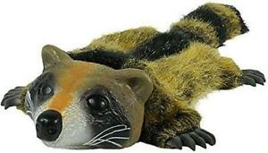 HYPER PET REAL SKINZ RACCOON DOG TOY w/SQUEAKER, Safe and Durable            #kk