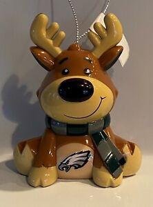Philadelphia Eagles Reindeer Christmas Holiday Tree Ornament FREE USA SHIPPING