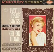 "PATTI PAGE ""GO ON HOME"" POP VOCAL 60'S LP MERCURY 60699 STEREO"