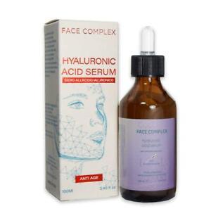 Siero Viso all'acido ialuronico anti invecchiamento Antirughe Face Complex 100ml