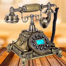 Pro Retro Retrotelefon Antik Nostalgie Design Braun Telefon Dekoration Hause DE