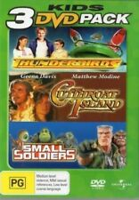 Thunderbirds / Small Soldiers / Cutthroat Island (DVD, 2007)
