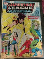 Justice League of America Drones of the Queen Bee DC Comics #23 1963