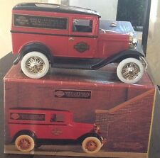 Harley Davidson Die Cast Bank 1931 Panel Delivery Truck Limited Edition MIB