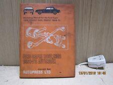 Workshop manual for Ford Capri 1300 1600 1968-1970