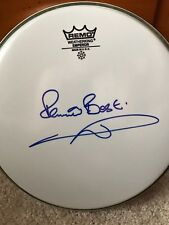 Pete Best signed in person drum head the Beatles paul mccartney ringo starr