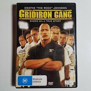 Gridiron Gang   DVD Movie   Dwayne 'The Rock' Johnson, Xzibit   Sport/Drama