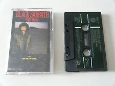 BLACK SABBATH - SEVENTH STAR - CASSETTE TAPE - 1986 GREEN PAPER LABEL - VERTIGO