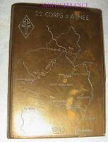 ETUI A CIGARETTE DU 2° CORPS D'ARMEE EN OCCUPATION EN ALLEMAGNE 1945