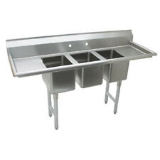"Advance Tabco K7-Cs-21 10"" Fabricated Convenience Store Sink"