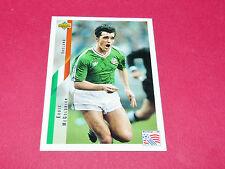 E. McGOLDRICK IRELAND EIRE FIFA WC FOOTBALL CARD UPPER USA 94 PANINI 1994 WM94