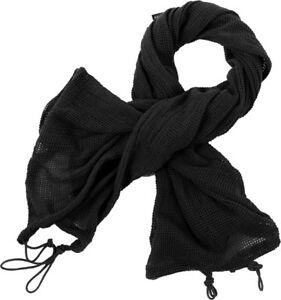 Tactical Concealment Sniper Veil Netting Mesh Hunting Scarf Head Cover