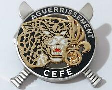 Brevet Commando AGUERRISSEMENT CEFE C.E.F.E 3°REI LÉGION ÉTRANGÈRE / Guyane
