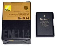 New - Original Nikon EN-EL14 Rechargeable Li-ion Battery