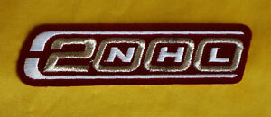 NHL Authentic 2000 Anniversary Logo Jersey Iron On Patch Hockey Burgundy Maroon