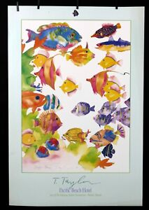 Tracy Taylor - Pacific Beach Hotel, 1990 - 1990 - Offset Poster