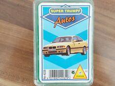 Quartett Autos Super  Trumpf von 1993 von Piatnik aus Sammlung