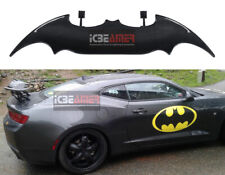 "Batman Style Sun Water proof 57"" Real Carbon Fiber Rear Trunk Spoiler Wing C3"