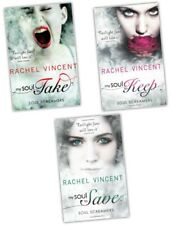 Rachel Vincent Soul Screamers 3 Books Collection Set New-My Soul To Keep,Take