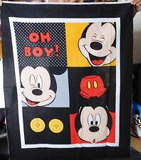 1 Panel Baumwolle Webware Disney Mickey Maus Oh Boy Stoff