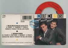 Debut De Soirée Belles Belles Belles CD SINGLE 8cm 3inch reprise claude francois