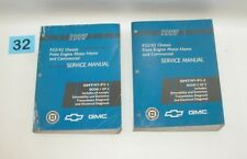 1997 GM P32 42 Front Engine Motor Home Commercial Factory Service Manual Set #32
