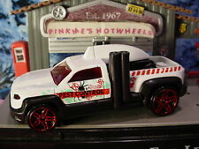 STREET BEASTS Excl DIESEL DUTY truck☆white/Teal;Pest ☆LOOSE 2016 Hot Wheels