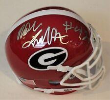 3a2794abc Georgia Bulldogs NCAA Original Autographed Football Helmets for sale ...