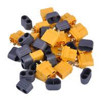 10 Paar Nylon XT60 Hochstrom Connectors Stecker Buchse Akku für RC Lipo Batterie