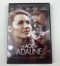 The Age of Adaline (DVD, 2015) - Harrison Ford, Blake Livelym Michiel Huisman