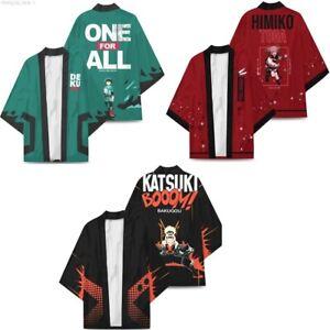 My Hero Academia: Midoriya Izuku Cosplay Cloak Kimono Bathrobe Pajamas Homewear