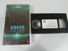 ABYSS JAMES CAMERON VHS TAPE CINTA COLECCIONISTA CASTELLANO