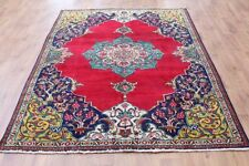 Traditional Vintage Wool Handmade Classic Oriental Area Rug Carpet 280 X 170 cm